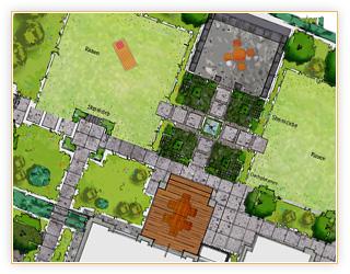 Gartengestaltung planung fototapete 2017 - Garten planen hang ...